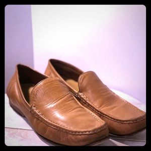 Men's Cole Haan Tan Leather Loafer size 11.5